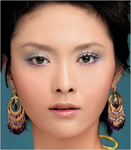 歪米汇护肤美妆提升眼角线条的眼妆画法