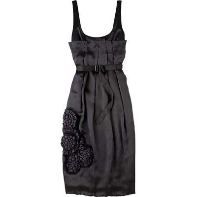 圣诞节性感小黑裙
