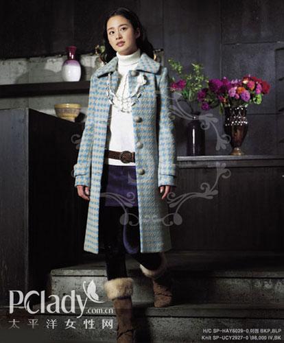 ★金泰熙的外套+长靴搭配