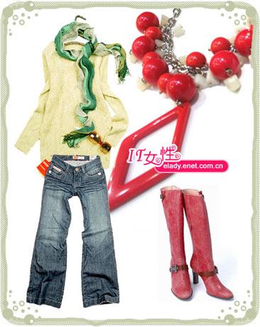 ★一双长靴七种不同风格搭配