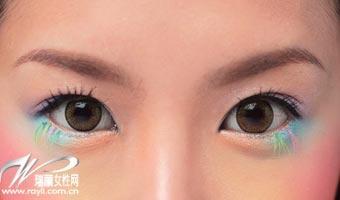 你适合什么颜色的眼影
