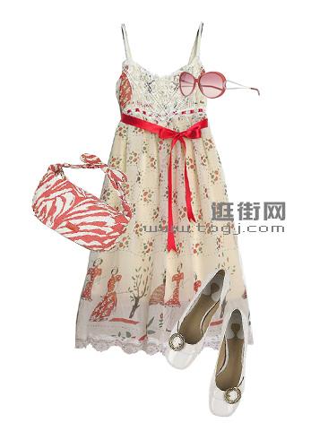 展现女性高贵魅力的高腰裙