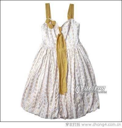 今年流行的吊带裙
