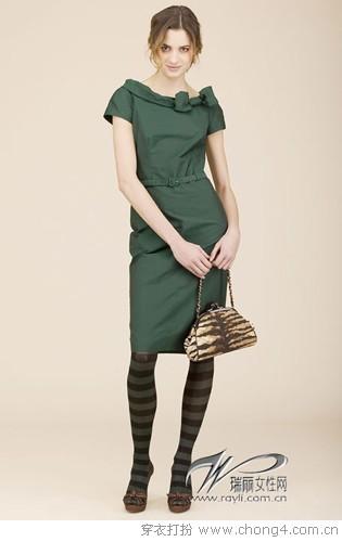 欧美风格的裙子