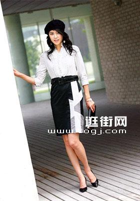 优雅长袖裙装