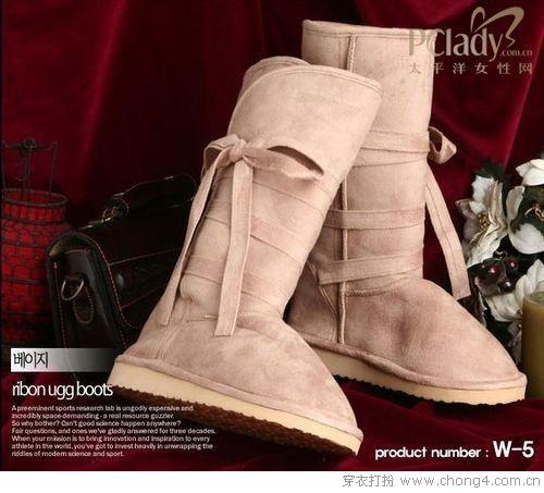 舒适可爱的雪地靴