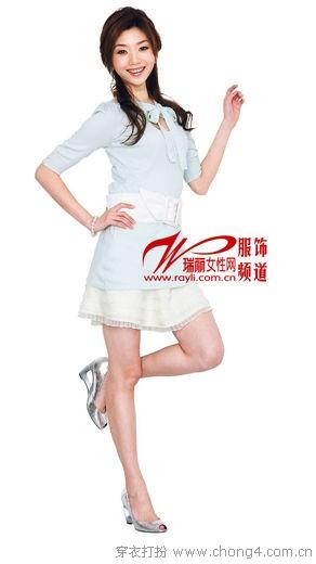 雪纺半身裙的实用搭配  - 无问 - 带去一声问候,留下一片真情!