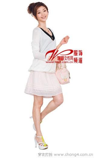 雪纺半身裙的实用搭配