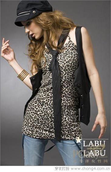 热情的豹纹元素服饰