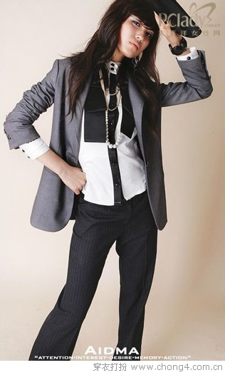 08年秋季流行的韩款小西服