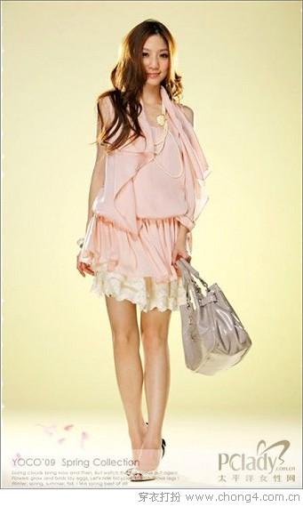 粉嫩熟女裙装 夏季流行早知道