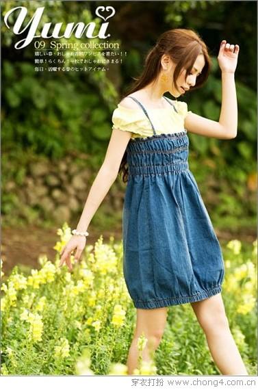日系连衣裙为你增添迷人气质