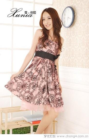 高贵气质晚礼服式连衣裙