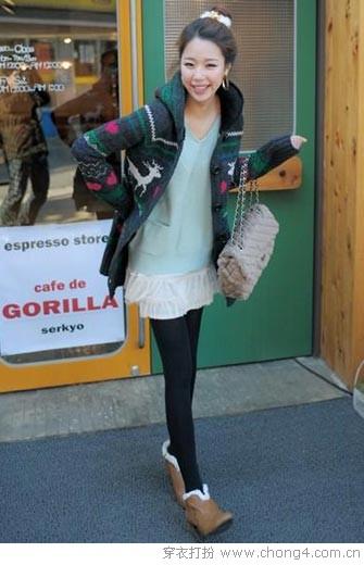 短裙美腿搭配法则 - 37铺 - 2010穿衣打扮-服装搭配
