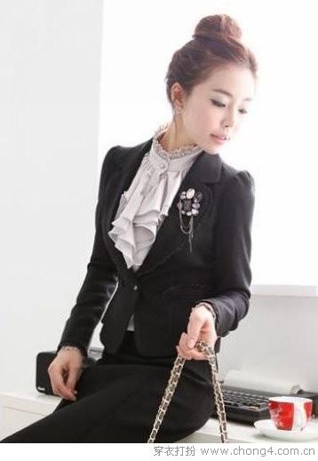优雅妩媚荷叶边元素装扮 - 37铺 - 2010穿衣打扮-服装搭配