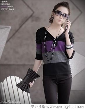 轻柔简约针织衫 - 穿衣打扮 - 服饰搭配,美容知识 - 37铺 - 2010穿衣打扮-服装搭配