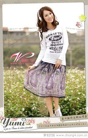 清新田园风装扮 - 37铺 - 2010穿衣打扮-服装搭配