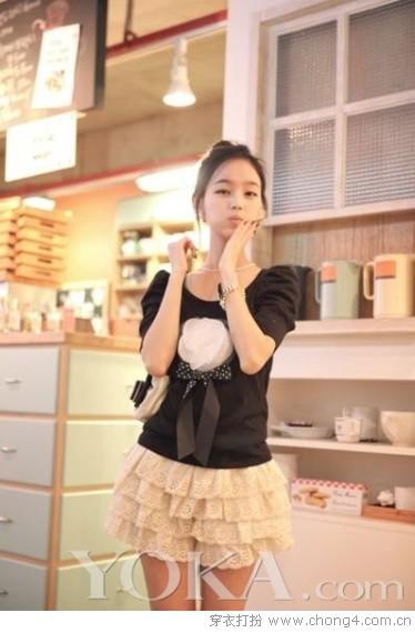 青春甜美约会装 - 冰豆 - 2010穿衣打扮-服装搭配