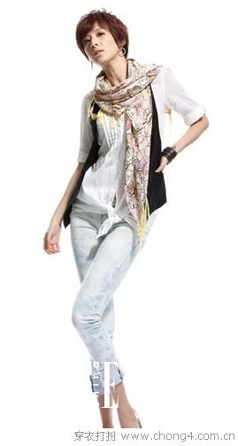 帅酷到底 女人味西装小背心 -  服饰搭配 - 冰豆 - 2010穿衣打扮-服装搭配