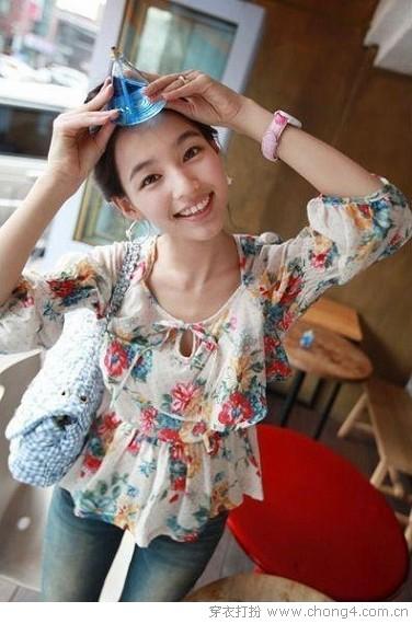 小女人味的夏日搭配 - 冰豆 - 2010穿衣打扮-服装搭配