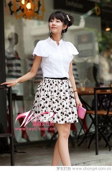 时尚黑白灰色调搭配 - 冰豆 - 2010穿衣打扮-服装搭配