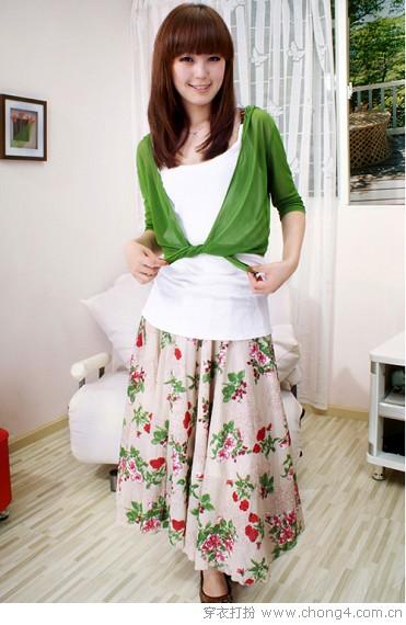 自然清爽的夏装 - 冰豆 - 2010穿衣打扮-服装搭配