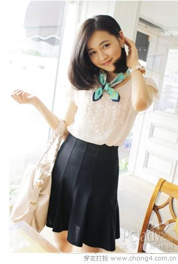 优雅半身裙 - 冰豆 - 2010穿衣打扮-服装搭配