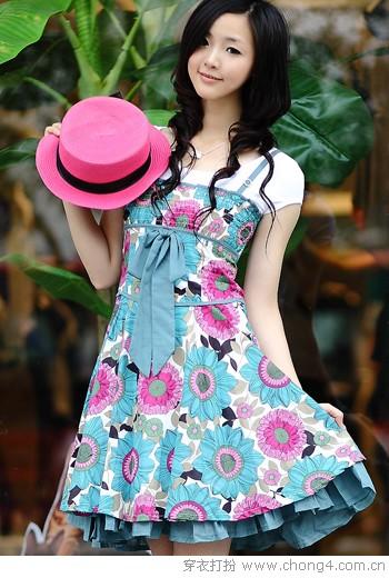甜美淑女风裙装 - 穿衣打扮 - 冰豆 - 2010穿衣打扮-服装搭配