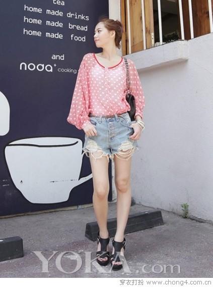 巧搭透视装性感又甜美 - 冰豆 - 2010穿衣打扮-服装搭配