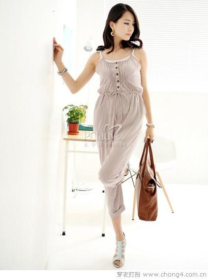 连身裤装搭配 - 冰豆 - 2010穿衣打扮-服装搭配
