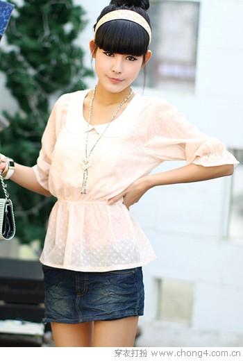 夏季抵挡不住的雪纺诱惑 - 冰豆 - 2010穿衣打扮-服装搭配