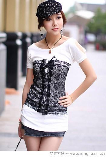 休闲百搭时尚T恤 - 冰豆 - 2010穿衣打扮-服装搭配