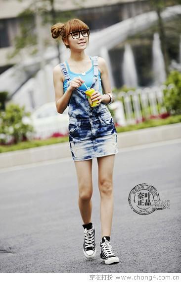 今夏热卖的奈叶牛仔裤 - 冰豆 - 2010穿衣打扮-服装搭配
