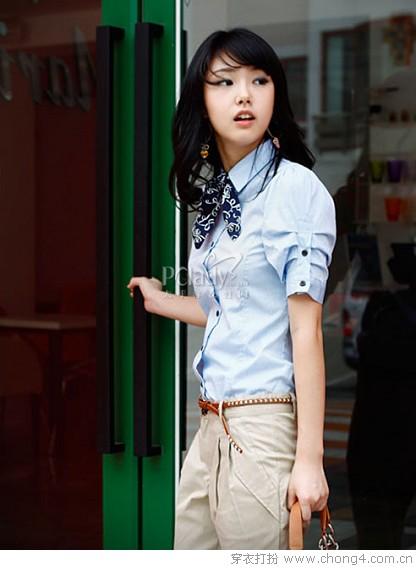 简约率性经典学院风装扮 - 冰豆 - 2010穿衣打扮-服装搭配