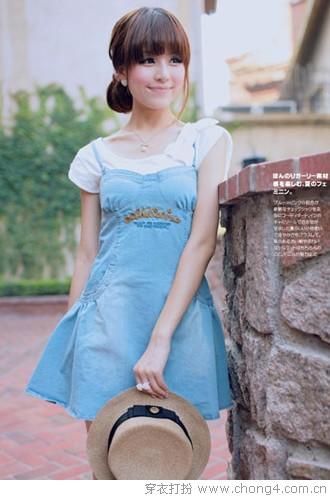 甜而不腻日系裙裤