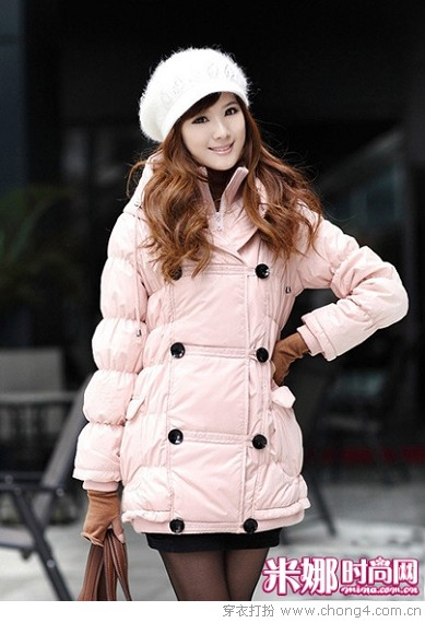 冬帽加外套 公主扮相人见人爱