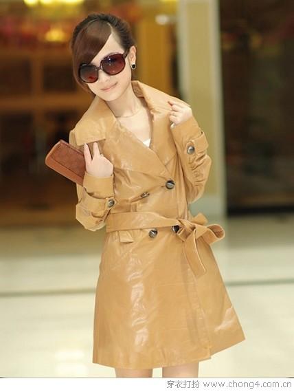 2010秋冬最抢手的皮衣服饰,潮流指数不断攀升 -  时尚姐妹 - 欢迎您的到来!