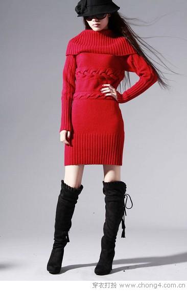 实用显瘦针织衫 - 冰豆 - 2010穿衣打扮-服装搭配
