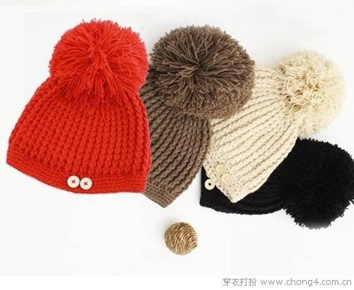 小孩毛线帽子编织图案