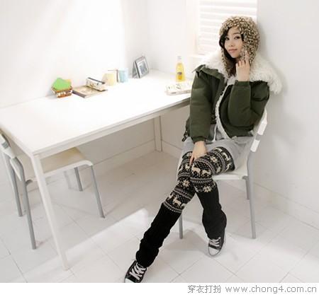 超实用打底裤保暖又显瘦