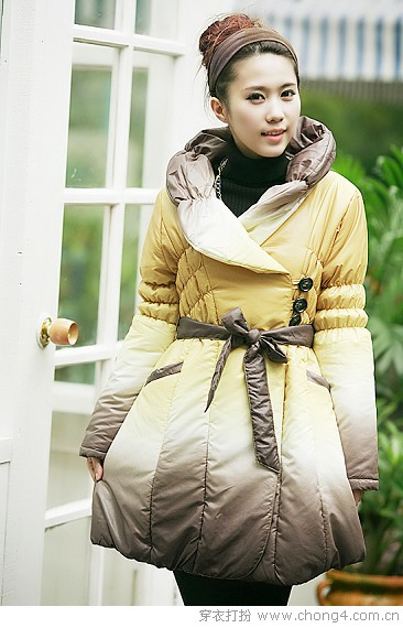 寒冷冬季时尚棉衣最给力