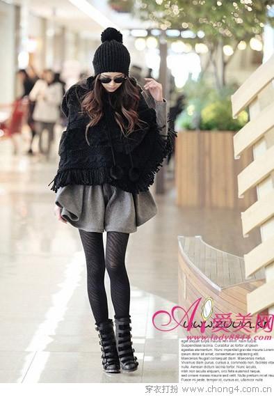 哈韩时尚范新年外套