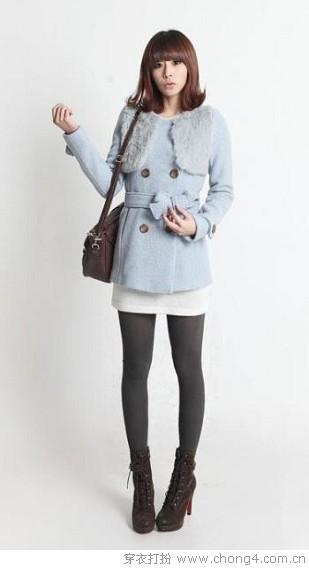 年轻无极限 冬日短装穿搭