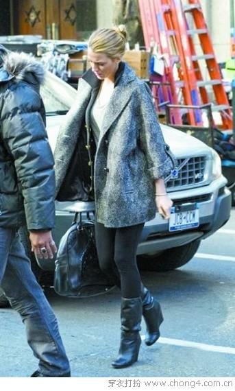 欧美范儿是如何穿搭过冬的