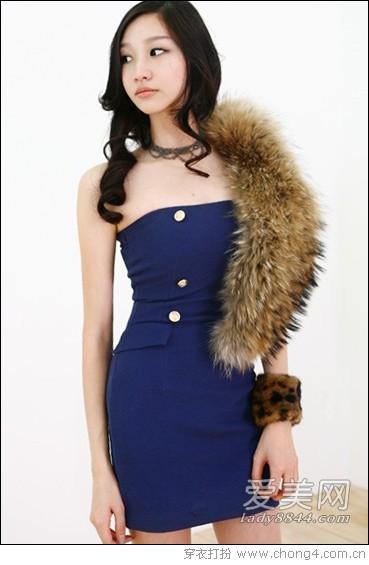 情人节单身派对连衣裙怎么穿