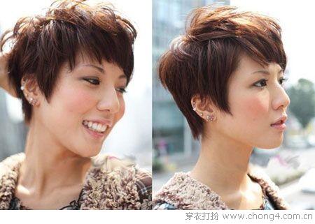 2011春季最新短发发型大集合