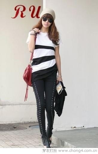 长衫+仔裤 <a style='top:0px;' href=/index.php/article-tag-k-%25E6%2589%2593%25E9%2580%25A0.html target=_blank ><strong style='color:red;top:0px;'>打造</strong></a>酷女新时尚