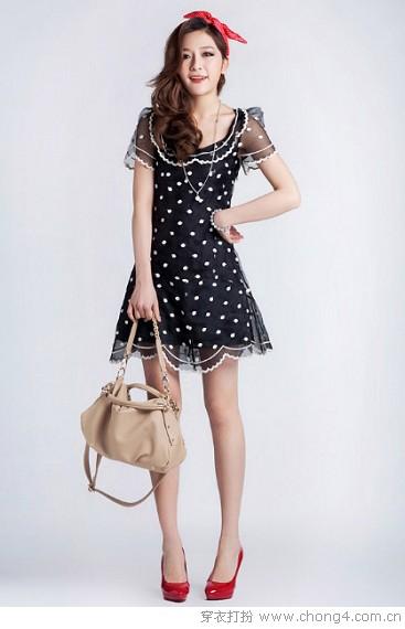 夏日连衣裙穿出最美的自己