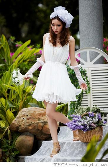 唯美飘逸夏季连衣裙