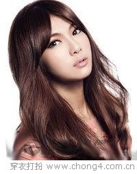 精致瘦脸刘海发型